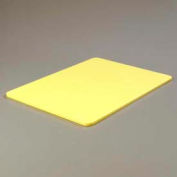 """Carlisle 1088804 - Color Cutting Board Pack 18"""", 24"""", 1/2"""", Yellow - Pkg Qty 6"""