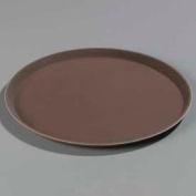 "Carlisle 1400GR076 - Griptite™ Round Tray 14"" x 3/4"", Toffee Tan - Pkg Qty 12"