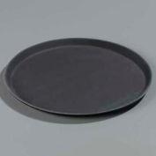 "Carlisle 1600GL004 - Griplite® Round Tray 16-7/16"" x 23/32"", Black - Pkg Qty 12"