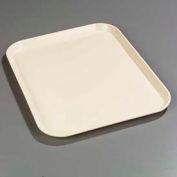 "Carlisle 1814FG022 - Glasteel™ Solid Rectangular Tray 18"", 14"", 3/4"", Ivory - Pkg Qty 12"