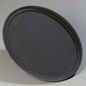 "Carlisle 3100GR004 - Griptite™ Oval Tray 31.5""/23.5""/1.5"", Black - Pkg Qty 6"