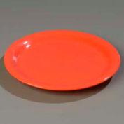 "Carlisle 3300252 - Sierrus™ Dinner Plate, Narrow Rim 10-1/2"", Sunset Orange - Pkg Qty 12"