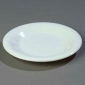 "Carlisle 3301602 - Sierrus™ Salad Plate, Wide Rim 7-1/2"", White - Pkg Qty 48"