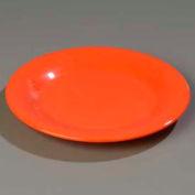"Carlisle 3302452 - Sierrus™ Dinner Plate, Wide Rim 12"", Sunset Orange - Pkg Qty 12"