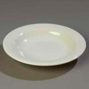 "Carlisle 3303442 - Sierrus™ Pasta/Soup/Salad Bowl 9-1/4"", Bone - Pkg Qty 24"