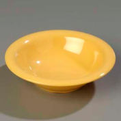 "Carlisle 3303622 - Sierrus™ Rimmed Bowl 7-1/4"", Honey Yellow - Pkg Qty 24"