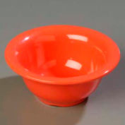 "Carlisle 3303852 - Sierrus™ Rimmed Nappie Bowl 5-3/8"", Sunset Orange - Pkg Qty 24"