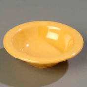 "Carlisle 3304222 - Sierrus™ Rimmed Fruit Bowl 4-3/4"", Honey Yellow - Pkg Qty 48"