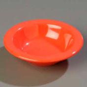 "Carlisle 3304252 - Sierrus™ Rimmed Fruit Bowl 4-3/4"", Sunset Orange - Pkg Qty 48"