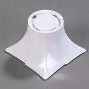 "Carlisle 3330202 - Rave™ Pedestal, 4"", White"