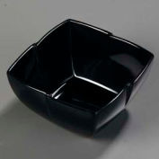 "Carlisle 3331003 - Rave™ Serving Bowl 7"", Black - Pkg Qty 6"