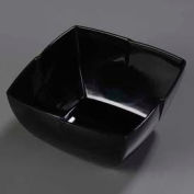 "Carlisle 3331203 - Rave™ Serving Bowl 10"", Black - Pkg Qty 6"