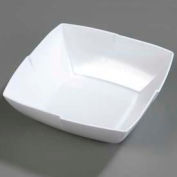 "Carlisle 3331402 - Rave™ Salad Bowl 12"", White - Pkg Qty 6"