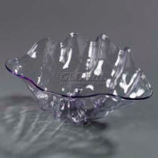 "Carlisle 33907 - Small Shell, 12.6 Oz., 8-7/8"" x 5-1/2"", Clear"