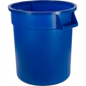 Bronco™ Waste Container 32 Gal - Blue - Pkg Qty 4