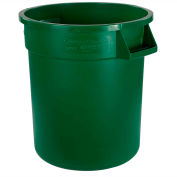 Bronco™ Waste Container 55 Gal - Green - Pkg Qty 2