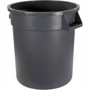 Carlisle Bronco Waste Container 55 Gallon, Gray 34105523