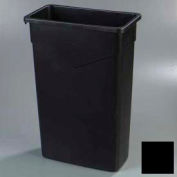 Trimline™ Waste Container 23 Gal - Black - Pkg Qty 4