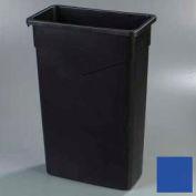 Trimline™ Waste Container 23 Gal - Blue - Pkg Qty 4