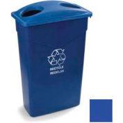 Trimline™ Bottle/Can Recycle Lid - Blue - Pkg Qty 8