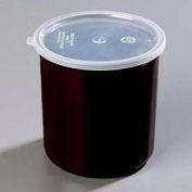 Carlisle 034203 - Poly-Tuf™ Crock W/Lid 2.7 Qt., Black - Pkg Qty 6