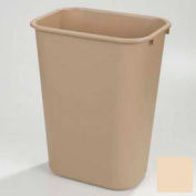 Recycle Wastebasket 41-1/4 Qt - Beige - Pkg Qty 12