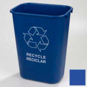 Carlisle Office Recycle Wastebasket 41-1/4 Qt - Blue - Pkg Qty 12