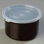 Carlisle 034303 - Poly-Tuf™ Crock W/Lid 1.5 Qt., Black - Pkg Qty 6