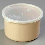 Carlisle 034306 - Poly-Tuf™ Crock W/Lid 1.5 Qt., Beige - Pkg Qty 6