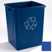 Centurian™ Recycling Container 50 Gallon - Blue - Pkg Qty 4