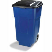 Carlisle® Roll-Away™ Container 50 Gallon - Blue - Pkg Qty 2