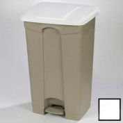 Step-On Container 12 Gal - White