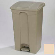Step-On Container 12 Gal - Beige