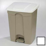 Step-On Container 18 Gal - White