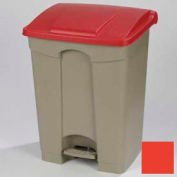 Step-On Container 18 Gal - Red
