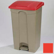 Step-On Container 23 Gal - Red
