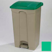Step-On Container 23 Gal - Green