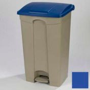 Step-On Container 23 Gal - Blue