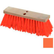 "Flo-Pac® Heavy Polypropylene Street Sweep 24"" - Orange - Pkg Qty 6"