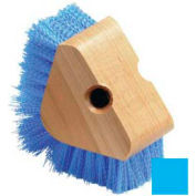 Triangle Scrubber With W/Polypropylene Bristles - Carlisle Blue - Pkg Qty 12