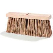 "Flo-Pac® Palmyra Stalks Street Broom 16"" - Pkg Qty 12"