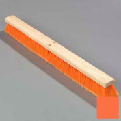 "Flo-Pac® Flo-Pac® Poly-P Sweep w/ Heavy Poly-P Center 18"", Orange - Pkg Qty 6"