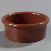 Carlisle 036228 - Standard Ramekin 2.5 Oz., Lennox Brown - Pkg Qty 48