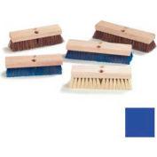 """Flo-Pac® Stiff Polypropylene Deck Scrub 12"""" - Blue - Pkg Qty 12"""