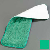 "Carlisle Microfiber Wet Mop Pad 18"", Green - 363321809 - Pkg Qty 12"