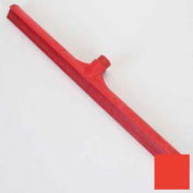 "Spectrum® Color-Coded One-Piece Rubber Floor Squeegee 24"" - Red - 3656805 - Pkg Qty 6"