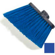 "Duo-Sweep® Heavy Duty Angle Broom W/12"" Flare (Head Only) 8"" - Blue - Pkg Qty 12"