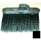 "Wide Duo-Sweep Warehouse Broom (Head Only) 13"" - Black - Pkg Qty 12"