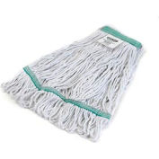 Carlisle® Flo-Pac® Medium Green Band Mop 369419B00 - Pkg Qty 12
