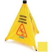 "Carlisle Pop-Up Caution Cone 20"", Yellow - 3694204 - Pkg Qty 12"